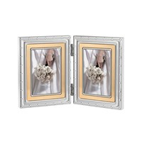 Vera Wang Wedgwood With Love Folding Frame Gold 2X3