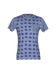 Yes Zee By Essenza T Shirts Slate Blue