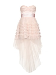 Saint Laurent Strapless Tulle Dress