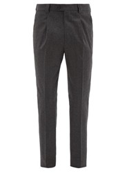 Brunello Cucinelli Tailored Wool Trousers Grey