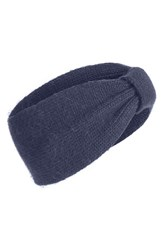 Tasha Knit Head Wrap Navy