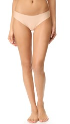 Commando Butter Mid Rise Thong Nude