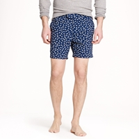 J.Crew 6.5' Tab Swim Short In Nautical Anchors