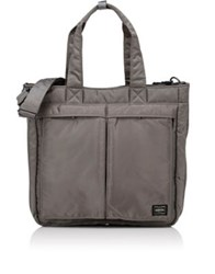 Porter Men's Tanker Tote Bag Silver