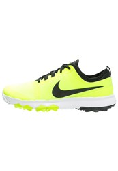 Nike Golf Fi Impact 2 Golf Shoes Volt Black White Neon Yellow