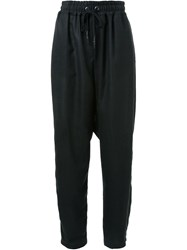 Strateas Carlucci Baggy Trousers Black