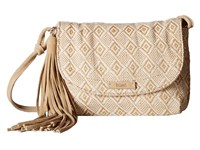 Toms Woven Mix Tassel Crossbody Natural Cross Body Handbags Beige