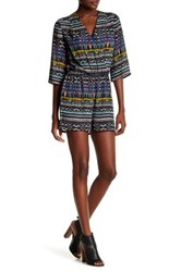 Kut From The Kloth Julie Wrap Romper Multi