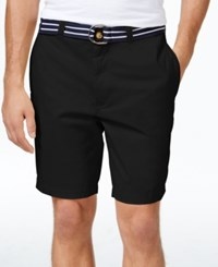 Club Room Men's Flat Front Shorts Only At Macy's