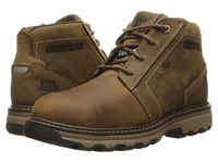 Caterpillar Parker Esd Steel Toe Dark Beige Men's Work Lace Up Boots Brown