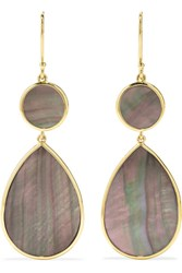 Ippolita Polished Rock Candy 18 Karat Gold Shell Earrings One Size
