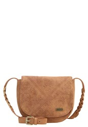 Roxy Material Love Across Body Bag Brown