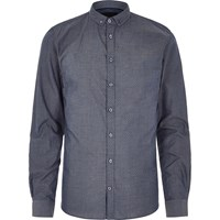 Vito River Island Mens Mid Blue Shirt