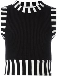 Givenchy Knitted Sleeveless Top Black