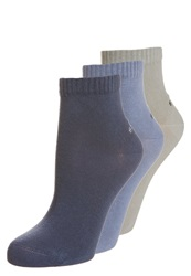S.Oliver 3 Pack Socks Smoked Blue Stone Navy
