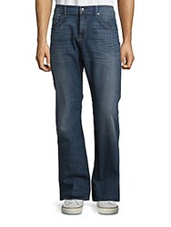 7 For All Mankind Brett Modern Fit Bootcut Jeans Uptown Blue
