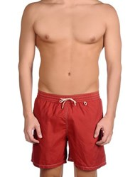 Loro Piana Swimwear Swimming Trunks Men Maroon