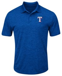 Profile Big And Tall Texas Rangers First Hit Polo Royalblue