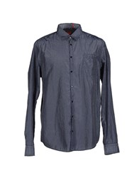 Boss Orange Shirts Shirts Men Dark Blue
