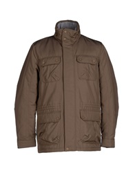 Geox Jackets Cocoa