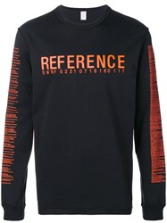 Yang Li Reference Sweatshirt Black