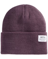 Wesc Cuffed Beanie Plum Perfect