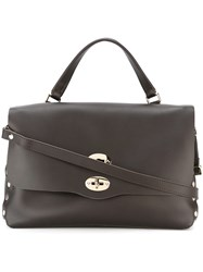 Zanellato Large 'Postina' Satchel Brown