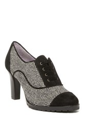 Johnston And Murphy Gail Piped Oxford Pump Black