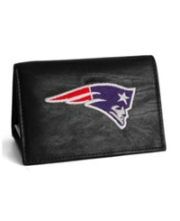 Rico Industries New England Patriots Trifold Wallet Black