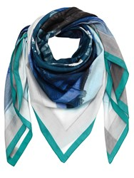 Faliero Sarti Cotton And Silk Printed Scarf