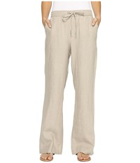 Tommy Bahama Two Palms Easy Pants Natural Women's Casual Pants Beige