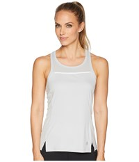 Asics Lite Show Tank Top Mid Grey Sleeveless Gray