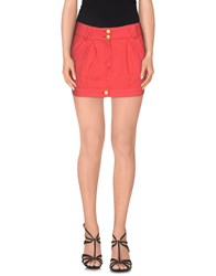Blumarine Skirts Mini Skirts Women Red