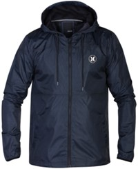 Hurley Men's Runner 2.0 Lightweight Jacket Black