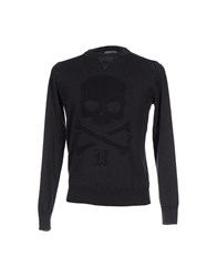 Hydrogen Knitwear Jumpers Men Steel Grey