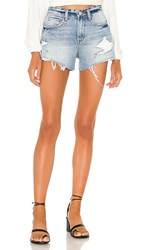 Blank Nyc Blanknyc The Barrow Vintage High Rise Denim Short In Stupid. Stupid In Love