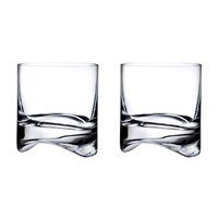 Nude Arch Whisky Glasses Set Of 2