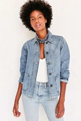 Levi's Denim Chore Coat Light Blue