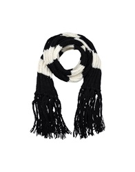 Patrizia Pepe Oblong Scarves White