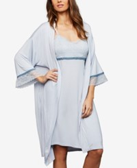 A Pea In The Pod Nursing Nightgown And Robe Pale Blue