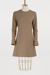 A.P.C. Maddy Dress Beige Fonce