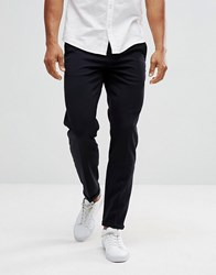 Lindbergh Cropped Trousers In Navy Navy
