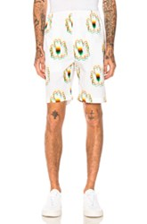 Stella Mccartney Printed Shorts In Floral White Floral White