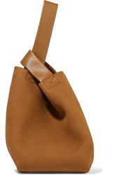 Theory Urban Small Nubuck Tote Tan