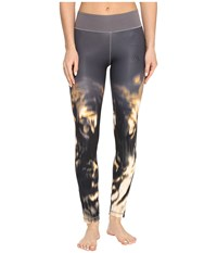 Adidas Wow Drop 2 Tights Trace Grey Print Trace Grey S17 Women's Casual Pants Gray