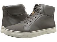 Clarks Ballof Hi Grey Leather Men's Lace Up Boots Gray