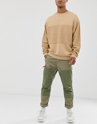 G Star Torbin Straight Tapered Fit Cargo Trousers In Khaki Green