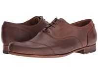 Billy Reid Warner Cap Toe Oxford Shoe Chestnut Men's Lace Up Cap Toe Shoes Brown