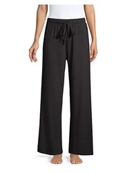 Saks Fifth Avenue Hattie Drawstring Pants Wine Black