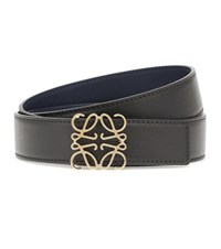 Loewe Leather Belt Black